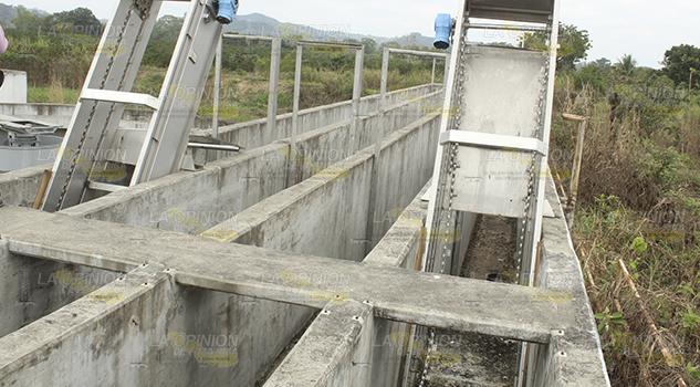 Desvalijaron planta  de aguas residuales