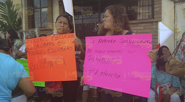 Protestan contra gobierno de Toño