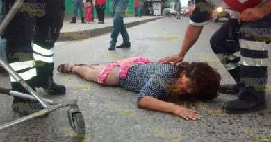 Autobús Atropella Mujer Bulevar Central Poniente