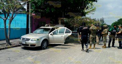 Balacera Cinco Detenidos