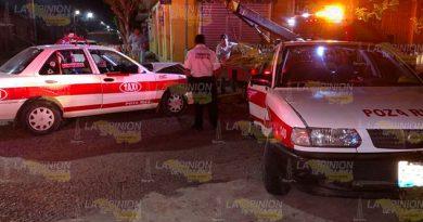 Choque Taxis Personas Lesionadas