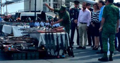 Destruccion Armas Esfuerzos Autoridad Judicial Militar