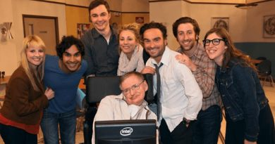 Elenco The Big Bang Theory Despide Stephen Hawking