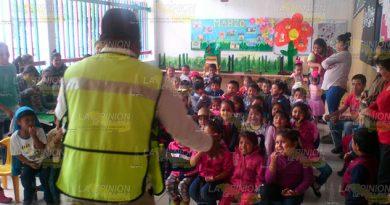Fomentan Cultura Prevención Escuelas