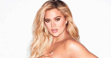 Khloé Kardashian Posa Topless Recta Final Embarazo