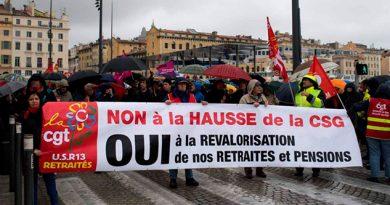 Macron Afronta Descontento Jubilados Aumento Impuestos