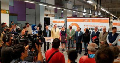 Metro CDMX Exposición Defensa Equidad Género