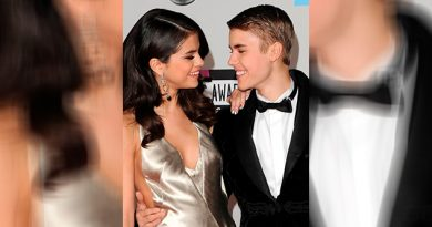 Motivo Orilló Selena Gomez Cortar Justin Bieber