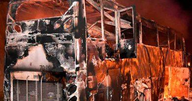Mueren Migrantes Incendiarse Autobús Tailandia