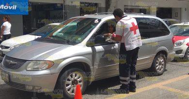 Pocos Donativos Cruz Roja