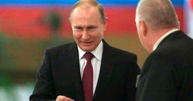 Putin Logra Cuarto Mandato