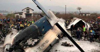 Reportan Muertos Heridos Choque Avión Nepal