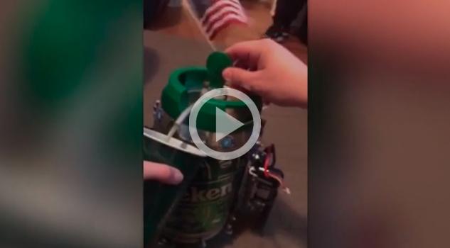 ¡El robot perfecto para los amantes de la cerveza!