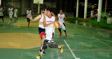 Rol Juegos Liga Municipal Basquetbol Poza Rica