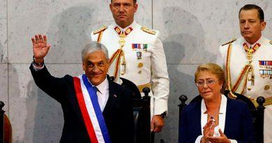 Sebastian Piñera Asume Segunda Vez Presidencia Chile