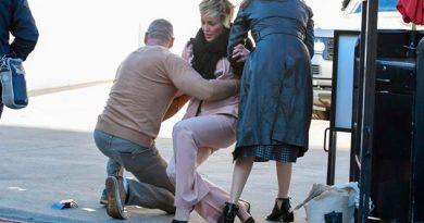 Tacones Provocan Bochornosa Caída Sharon Stone