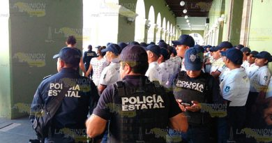 Tropas Élite Resguardan Palacio Gobierno Xalapa