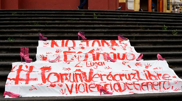 Veracruz Segundo Lugar Nivel Nacional Feminicidios