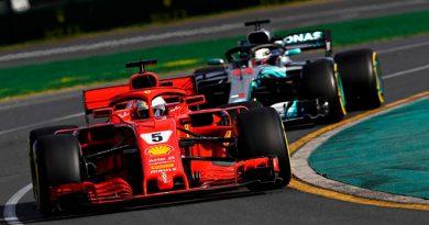Vettel Superó Hamilton Ganó Primera Carrera Año
