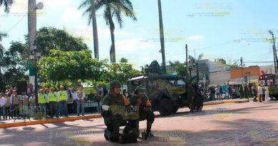 Ejército Mexicano Simulacro Amenaza Artefacto Explosivo
