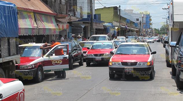 Acaparan Calles Zona Centro