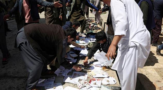 Al Menos 48 Muertos Atentado Suicida Contra Centro Electoral Kabul
