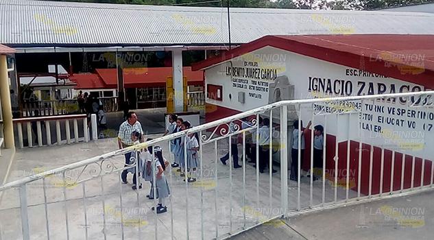 Alarma Por Olor Gas Escuela Primaria