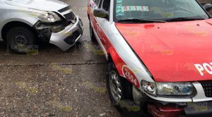 Aparatoso Accidente Calles Morelos 2 Abril