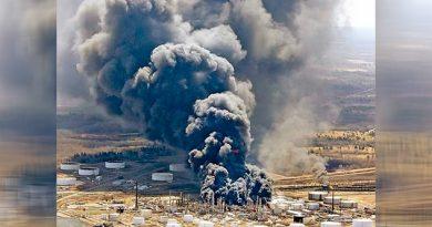 Arde Refinería Deja 11 Heridos Estados Unidos