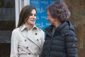 Así Comportaron Reinas Letizia Sofía Reaparición Público
