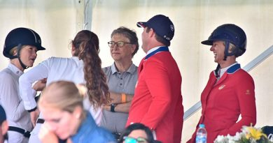 Bill Gates Familia Asisten Competencia Ecuestre Xalapa