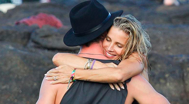 Chris Hemsworth Elsa Pataky Protagonizan Momento Súper Hot