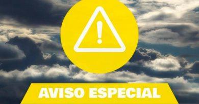 Da Protección Civil Aviso Especial Tormentas Lluvias
