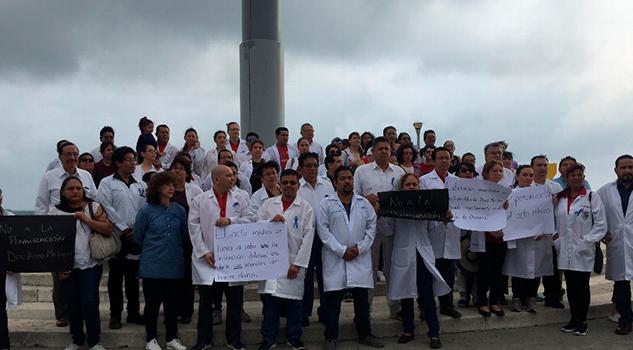 Doctores Marchan Veracruz Pedir Penalizar Actos Médicos