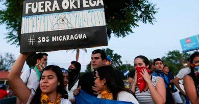 Estudiantes Nicaragüenses Quieren Paz Exigen Salida Presidente