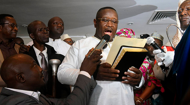 Exgolpista Opositor Julius Maada Bio Nuevo Presidente Sierra Leona
