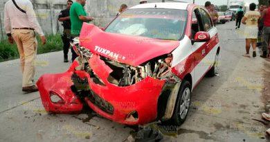 Fuerte Impacto Carretera Tuxpan Cobos