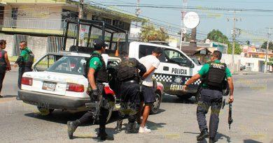 Fuerza Civil Policía Estatal Detienen Asaltante