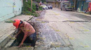 Fuga Aguas Negras Avenida Constitución