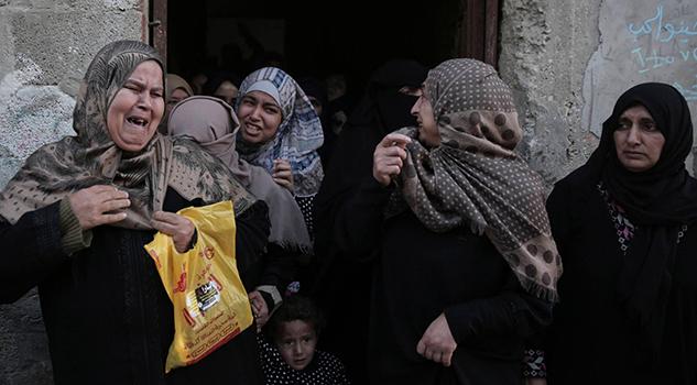Gaza Mantiene Protestas Pese Disparos Israel