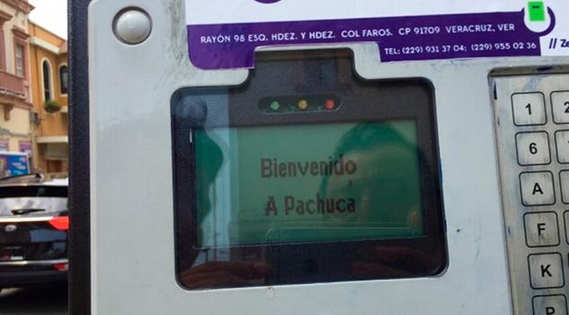Parquímetros Veracruz Dan Bienvenida Pachuca
