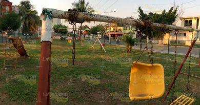 Parques Infantiles Total Abandono
