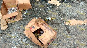 Pierde Carga Cerveza Libramiento