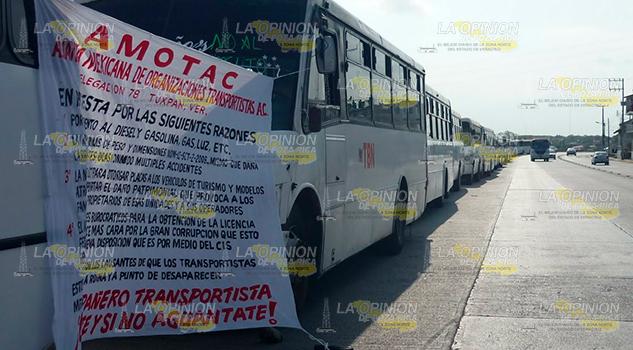 Protestan Transportistas