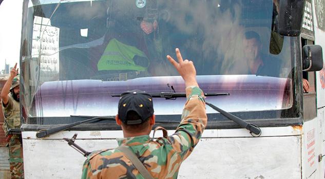 Régimen Sirio Toma Control Enclave Rebelde Sufrió Ataque Químico