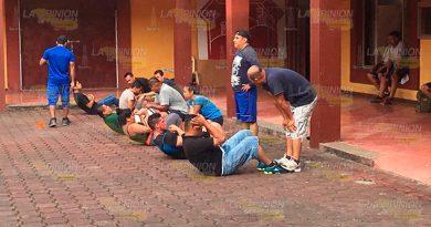 Realizan Pruebas Aspirantes Integrar Policía Municipal