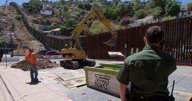 Reemplazan Valla Fronteriza Nuevo México