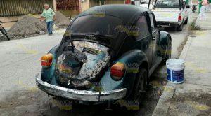 Se Incendia Automóvil Corto Circuito