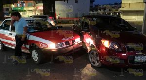 Taxi Choca Contra Particular
