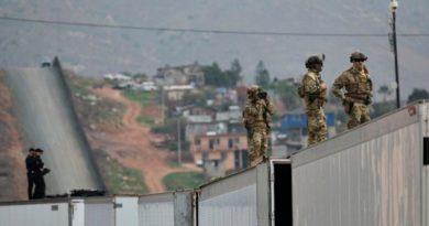Trump Enviará Ejército Vigilar Frontera México Hasta Levantar Muro